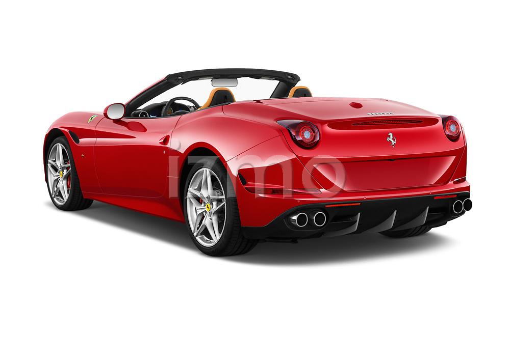 Car pictures of rear three quarter view of 2017 Ferrari California-T 2 Door Convertible Angular Rear