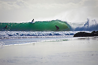 Tuesday June 8, 2010 Line ups at Snapper Rocks and Foggies, Coolangatta, Queensland, Australia. Photo: joliphotos.com