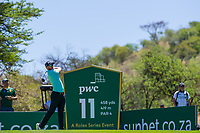 Sebastian Soderberg (SWE) during the 2nd round at the Nedbank Golf Challenge hosted by Gary Player,  Gary Player country Club, Sun City, Rustenburg, South Africa. 15/11/2019 <br /> Picture: Golffile | Tyrone Winfield<br /> <br /> <br /> All photo usage must carry mandatory copyright credit (© Golffile | Tyrone Winfield)
