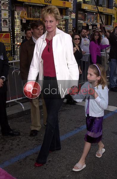Melanie Griffith and daughter