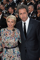 Daniela D'Antonio &amp; Paolo Sorrentino at the premiere for &quot;The Killing of a Sacred Deer&quot; at the 70th Festival de Cannes, Cannes, France. 22 May 2017<br /> Picture: Paul Smith/Featureflash/SilverHub 0208 004 5359 sales@silverhubmedia.com