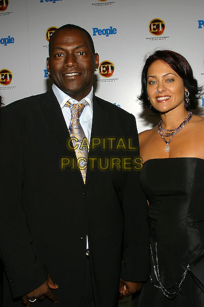 RANDY JACKSON & WIFE ERIKA.The Entertainment Tonight Emmy Party Sponsored by People Magazine held at The Mondrian. .half length, married, husband.www.capitalpictures.com.sales@capitalpictures.com.© Capital Pictures.