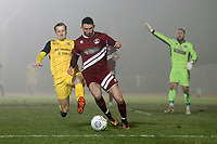 Ronnie Winn of Hornchurch during Chelmsford City vs AFC Hornchurch, BBC Essex Senior Cup Football at Melbourne Park on 4th February 2019