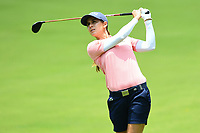 SINGAPORE - MARCH 03: Azahara Munoz of Spain on the 12th fairway during the final round of the HSBC Women's World Championship 2019 at Sentosa Golf Club - Tanjong Course, Singapore on March 03, 2019.<br /> .<br /> .<br /> .<br /> (Photo by: Naratip Golf Srisupab/SEALs Sports Images)<br /> .<br /> Any image use must include a mandatory credit line adjacent to the content which should read: Naratip Golf Srisupab/SEALs Sports Images