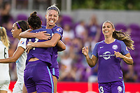 Orlando, FL - Saturday July 15, 2017: Alanna Kennedy during a regular season National Women's Soccer League (NWSL) match between the Orlando Pride and FC Kansas City at Orlando City Stadium.