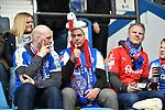 10.03.2018, Vonovia Ruhrstadion, Bochum, GER, 2.FBL., VfL Bochum vs. Holstein Kiel<br /> im Bild / picture shows: <br /> Fans Kieler <br /> <br /> <br /> <br /> Foto &copy; nordphoto / Meuter