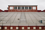 The current-day football field for the Jacksonville High School football team in Jacksonville, Alabama.