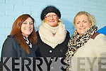 Pictured at Ballyheigue races on New Year's Day were l-r: Siobhan Hussey, Mary Fuller and Betty O'Mahony (Tralee and Ballyheigue).