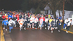 The inaugural Only Fools Run at Midnight, held in Minocqua drew more than 440 runners.