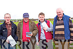 Attending the Lixnaw coursing on Sunday were Alan O'Shaughnessy, Dick Galvin, Berkie Brown, and Mike Lawlee, from Listowel...   Copyright Kerry's Eye 2008