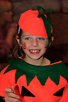 Ella Carter at the fancy dress in Scotch Hall.<br /> Picture: Fran Caffrey www.newsfile.ie