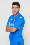 Getafe CF's Francisco Portillo during the session of the official photos for the 2017/2018 season. September 19,2017. (ALTERPHOTOS/Acero)