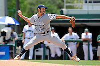 5 June 2010:  FIU's Aaron Arboleya (29) pitches in the first inning as the Dartmouth Green Wave defeated the FIU Golden Panthers, 15-9, in Game 3 of the 2010 NCAA Coral Gables Regional at Alex Rodriguez Park in Coral Gables, Florida.