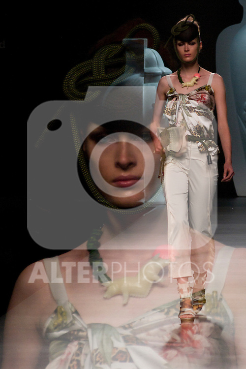 02.09.2012. Models walk the runway in the Ana Locking fashion show during the Mercedes-Benz Fashion Week Madrid Spring/Summer 2013 at Ifema. (Alterphotos/Marta Gonzalez)