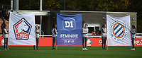 20181027 - CAMPHIN-EN-PEVELE , FRANCE : illustration pictured during the 8 th competition game between the women teams of Lille OSC and Montpellier Herault Sporting Club in the 2018-2019 season of the first Division - Ligue 1 at Domaine de Luchin , Saturday 27th Octobre 2018 ,  PHOTO Dirk Vuylsteke | Sportpix.Be