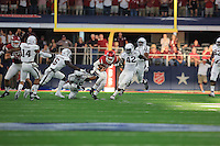 Arkansas Democrat-Gazette/RICK MCFARLAND --09/26/15--  Arkansas's Texas A&M's in the  quarter of their game at ATT Stadium in Arlington Texas on Saturday Sept. 26, 2015.