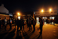 Fans start to enter the stadium during Chorley vs Fleetwood Town, Emirates FA Cup Football at Victory Park on 6th November 2017