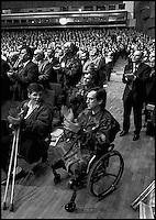 Balkan War: Congress of Governement Party HDZ in Zagreb, Croatia 1991