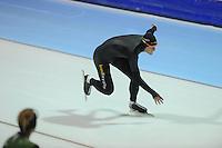 SCHAATSEN: HEERENVEEN: 24-10-2013, IJsstadion Thialf, Laatste training voor KPN NK afstanden, Ronald Mulder, ©foto Martin de Jong