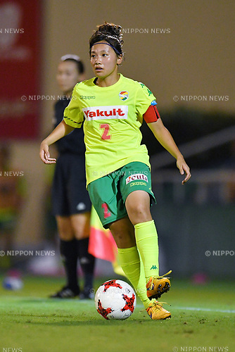 Saki Ueno (Jef Ladies), <br /> AUGUST 12, 2017 - Football / Soccer : <br /> Plenus Nadeshiko League Cup 2017 Division 1 <br /> Final match between JEF United Ichihara Chiba Ladies 1-0 Urawa Reds Ladies<br /> at Nishigaoka Soccer Stadium in Tokyo, Japan. <br /> (Photo by MATSUO.K/AFLO)