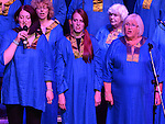 The Liverpool Harmonic Gospel Choir performing at the Gospel Gathering in the TLT. Photo:Colin Bell/pressphotos.ie