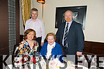Enjoying a Family Christmas Celebration at The Grand on Saturday were Collette O'Donnell, Mary O'Donnell, Brendan O'Malley, Leonard O'Donnell