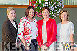 Mary Falvey, Geri O'Shea, Catherine Falvey and Margaret Hannon Rathmore at the Kerry Hospice fashion show in the INEC on Wednesday night