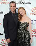James Van Der Beek and Heather McComb at The 2012 Environmental Media Awards held at Warner Brothers Pictures Studio in Burbank, California on September 29,2012                                                                               © 2012 Hollywood Press Agency