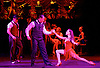 Tanguera<br /> by Mora Godoy<br /> at Sadler&rsquo;s Wells, London, Great Britain <br /> 19 July 2017 <br /> press photocall<br /> <br /> Melody Celatti (Giselle)<br /> <br /> Dabei Canaria (Gaudencio)<br /> <br /> Esteban Domenichini (Lorenzo) <br /> <br /> <br /> With a cast of over 30 dancers, singers, and musicians Argentina&rsquo;s classic tango production Tanguera returns to Sadler&rsquo;s Wells this summer and tells a story of unrequited love in early 20th century Buenos Aires. After playing to packed houses in 2010, the hit show returns to London for a strictly limited run as part of a European tour.<br /> <br /> With its award-winning choreography by renowned tango star Mora Godoy, Tanguera portrays different elements of the history of tango. A huge success in its native Buenos Aires, Tanguera has been touring the world since 2003, including performances in New York, Paris, Berlin, Madrid and Tokyo.<br /> <br /> Photograph by Elliott Franks <br /> Image licensed to Elliott Franks Photography Services
