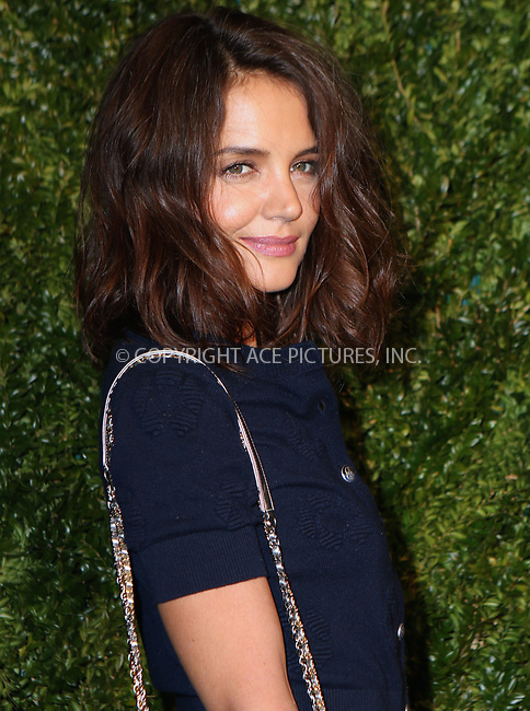 www.acepixs.com<br /> <br /> April 24 2017, New York City<br /> <br /> Actress Katie Holmes arriving at the Chanel Artists Dinner during the 2017 Tribeca Film Festival on April 24, 2017 in New York City.<br /> <br /> By Line: Nancy Rivera/ACE Pictures<br /> <br /> <br /> ACE Pictures Inc<br /> Tel: 6467670430<br /> Email: info@acepixs.com<br /> www.acepixs.com