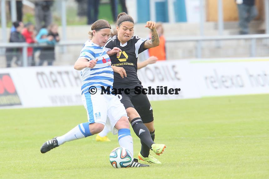 Dzsenifer Marozsan (FFC) gegen Jennifer Oster (MSV) - 1. FFC Frankfurt vs. MSV Duisburg