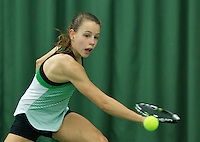 Rotterdam, The Netherlands, March 13, 2016,  TV Victoria, NOJK 12/16 years, Laurèl Polman (NED)<br /> Photo: Tennisimages/Henk Koster