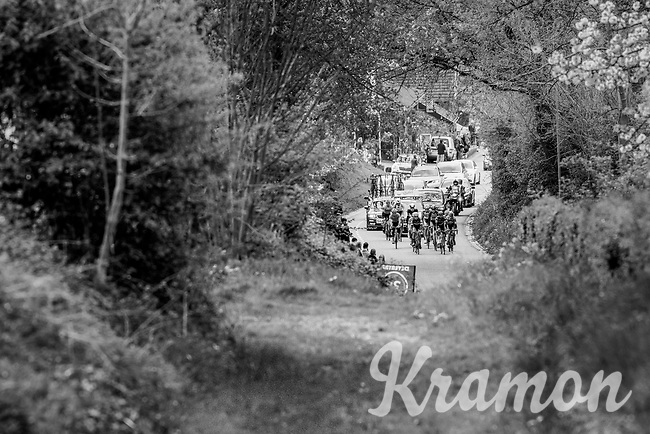 early breakaway group<br /> <br /> 52nd Amstel Gold Race (1.UWT)<br /> 1 Day Race: Maastricht &rsaquo; Berg en Terblijt (264km)