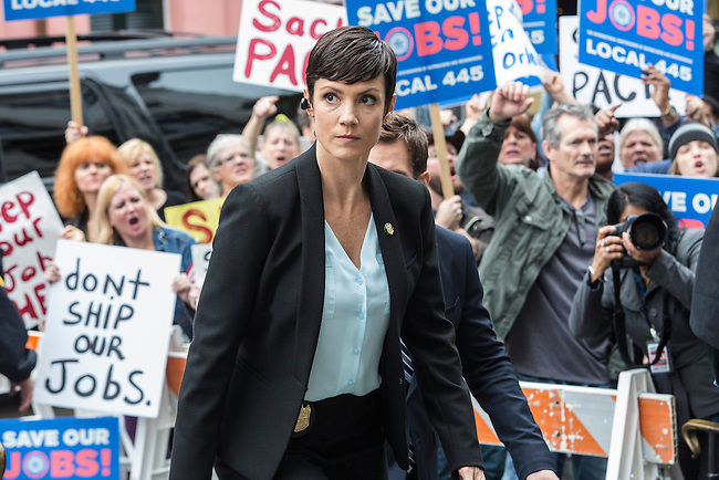 "Zoe McLellan as Special Agent Meredith Brody in CBS's ""NCIS: New Orleans"" Season 1"