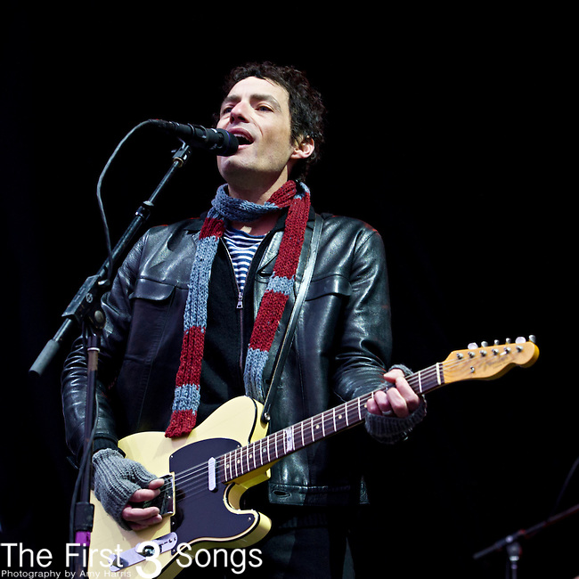 Jakob Dylan of The Wallflowers performs during the The Beale Street Music Festival in Memphis, Tennessee.