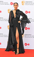 Rochelle Humes at the British Academy (BAFTA) Television Awards 2019, Royal Festival Hall, Southbank Centre, Belvedere Road, London, England, UK, on Sunday 12th May 2019.<br /> CAP/CAN<br /> &copy;CAN/Capital Pictures