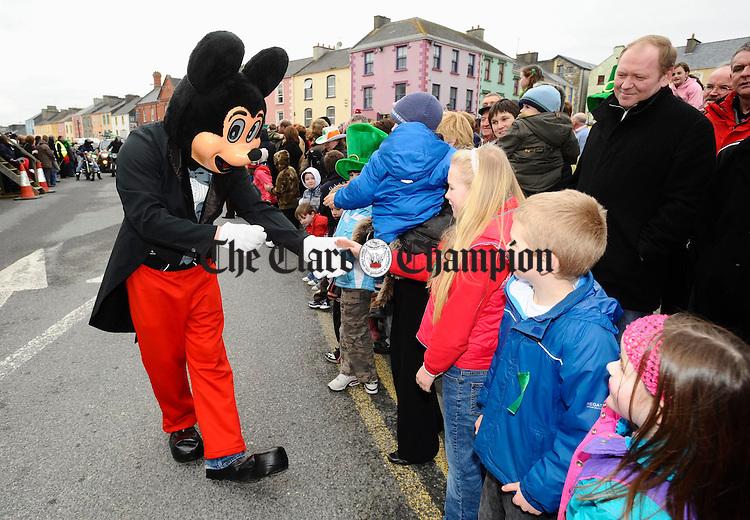 Kilrush Parade. Photograph by John Kelly.