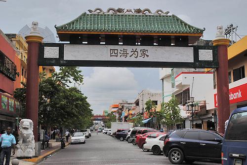 El Barrio Chino de Santo Domingo, emblemático asiento de la comunidad china en República Dominicana.
