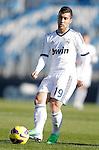 Real Madrid Castilla's Borja Garcia during La Liga match. January 13, 2013. (ALTERPHOTOS/Alvaro Hernandez)