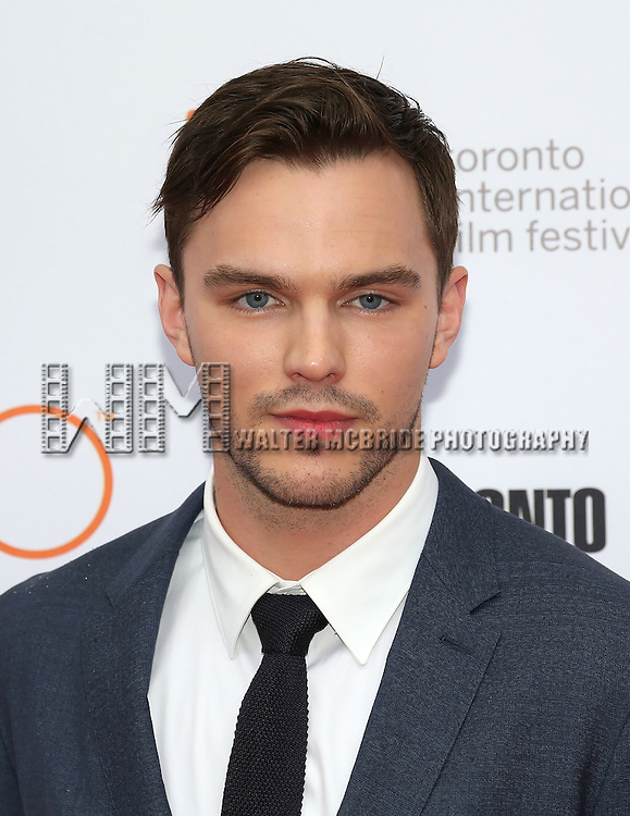 Nicholas Hoult attends the 'Equals' premiere during the 2015 Toronto International Film Festival at the Princess of Wales Theatre on September 13, 2015 in Toronto, Canada.