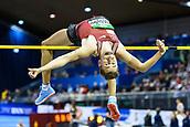 2nd February 2019, Karlsruhe, Germany;  High jump men: Mateusz Przybylko (GER). IAAF Indoor athletics meeting, Karlsruhe