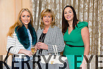 Kirsten Mc Kenzie Vass, Mandy Mc Kenzie Vass, Marie Loughran at the  Austin Stacks Fundraiser lunch in aid club development programme in Ballygarry Hotel on friday