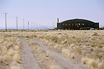 World War II-era hanger at the former Tonopah Army Air Field and now county airport, Tonopah, Nev.