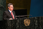 Paraguay<br /> General Assembly 70th session:  66th plenary meeting<br /> 1. Report of the Credentials Committee (A/70/573 (to be issued)) [item 3 (b)]<br /> 2. Culture of peace [item 16]<br /> (a) Report of the Secretary-General (A/70/373) <br /> (b) Draft resolutions (A/70/L.20 and A/70/L.24 (to be issued))