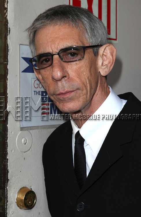 Richard Belzer.attending 'Gore Vidal - A Celebration' at the Schoenfeld Theatre in New York City on August 23, 2012 © Walter McBride/WM Photography
