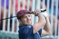 Former International rugby player Rory Lawson during The 2017 Celebrity Cup golf tournament at the Celtic Manor Resort, Newport, South Wales. 1.07.2017 <br /> <br /> <br /> Jeff Thomas Photography -  www.jaypics.photoshelter.com - <br /> e-mail swansea1001@hotmail.co.uk -<br /> Mob: 07837 386244 -