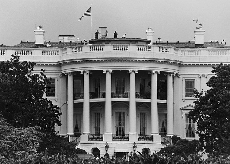 The White House in 1997. (Photo by Shana Raab/CQ Roll Call via Getty Images)