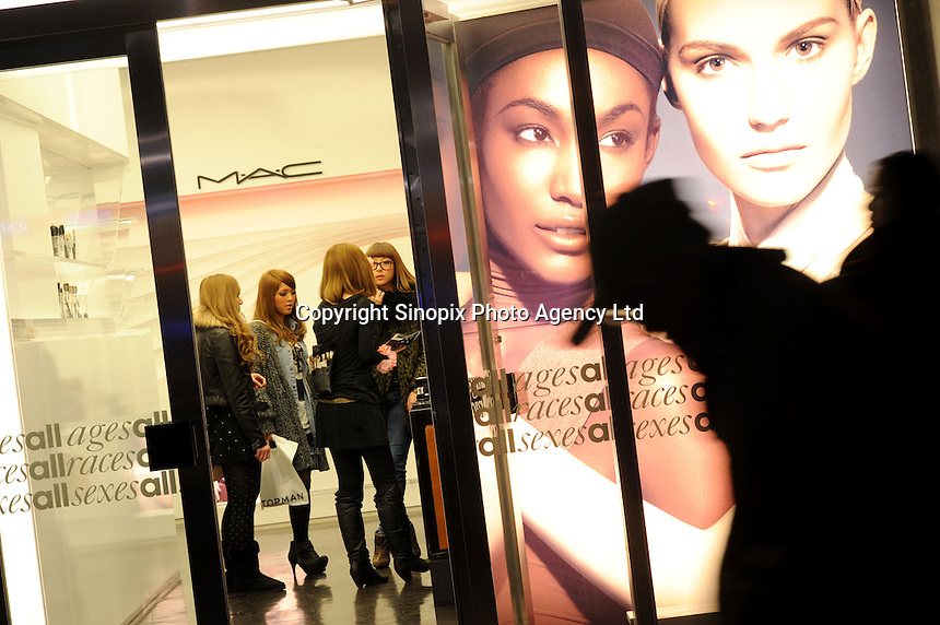 M.A.C cosmetics shop in Tokyo, Japan..