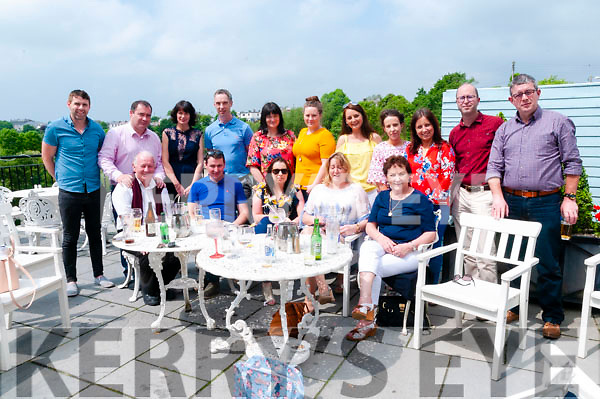 End of Year Dinner : The staff of North Kerry College, Listowel pictured at the Listowel Arms Hotel on Friday last attending their end of year dinner.