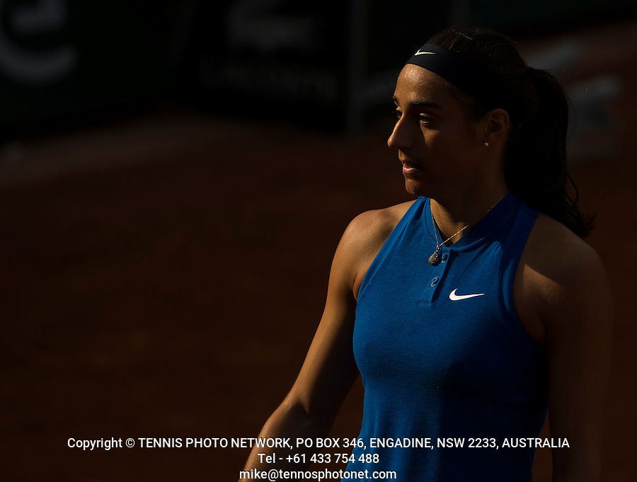 CAROLINE GARCIA (FRA)<br /> <br /> TENNIS - FRENCH OPEN - ROLAND GARROS - ATP - WTA - ITF - GRAND SLAM - CHAMPIONSHIPS - PARIS - FRANCE - 2016  <br /> <br /> <br /> <br /> &copy; TENNIS PHOTO NETWORK